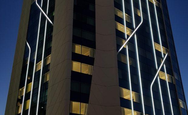 LED en façade