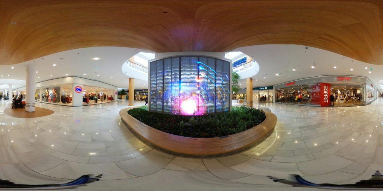 Ecran LED Transparent Double Face