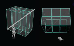 Ecran 3D configuration 1