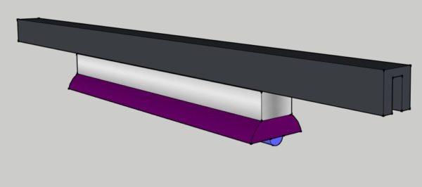 Spot UV sur Rail